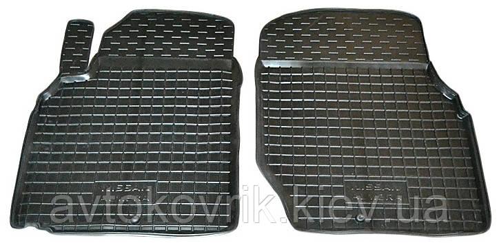 Полиуретановые передние коврики в салон Nissan Almera (N16) 2000-2006 (AVTO-GUMM)