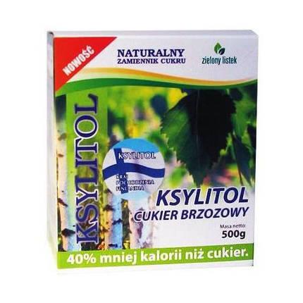 Ксилитол Zielony Listek, 500г, фото 2