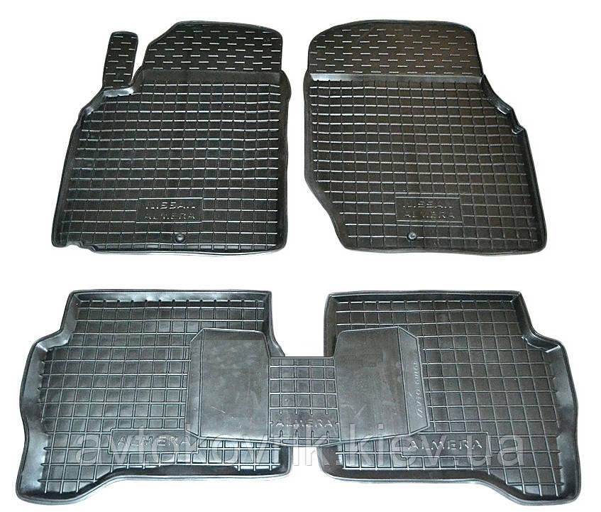 Полиуретановые коврики в салон Nissan Almera (N16) 2000-2006 (AVTO-GUMM)