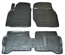 Поліуретанові килимки в салон Nissan Almera (N16) 2000-2006 (AVTO-GUMM)