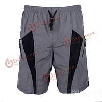 Сантич мужские велосипедные шорты повседневные брюки с coolmax колодки нон-съемный вкладыш