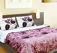 """Красивый стильный комплект постельного белья """"Мокко""""."""