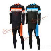 Саху зимний велосипед Велоспорт Джерси костюм тепловых Велоспорт одежда