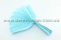 Помпон из тишью, светло-голубой, 25 см