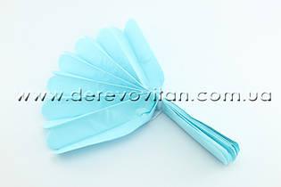 Помпон из тишью, светло-голубой, от 40 см
