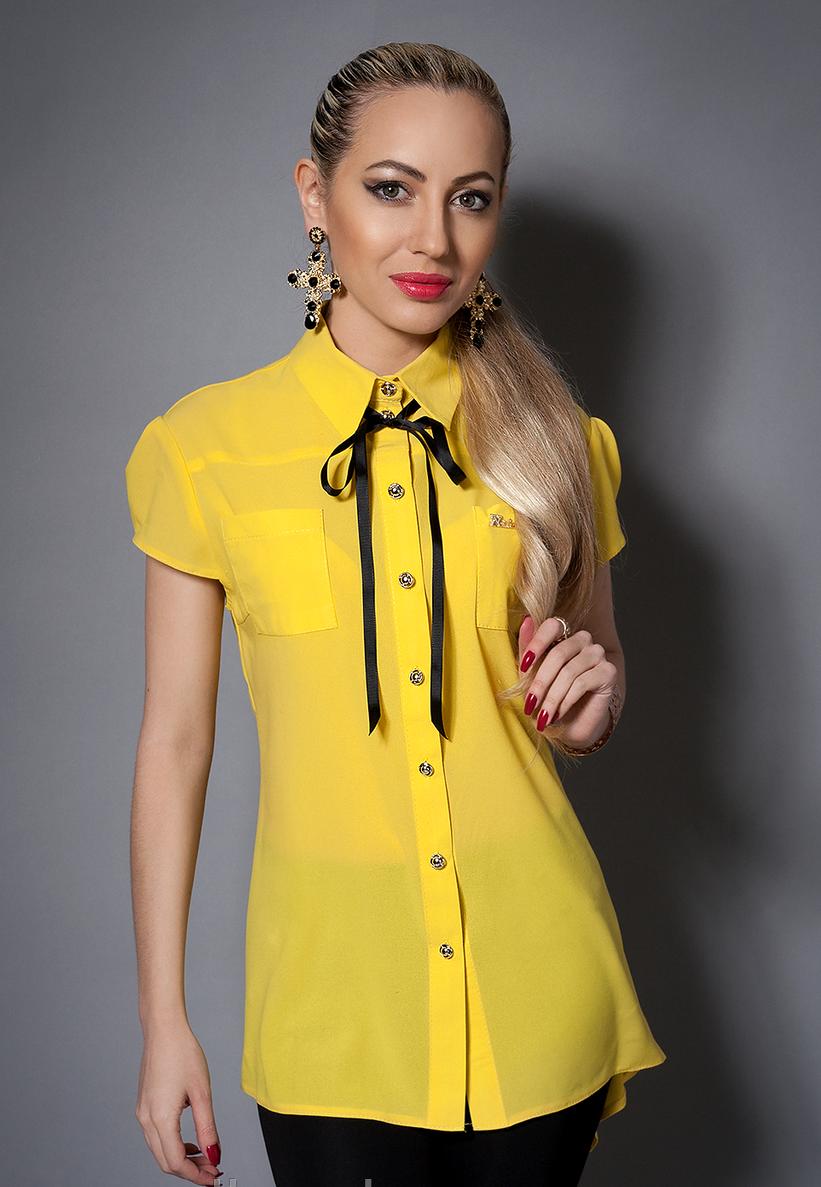 Нарядная красивая модная стильная шифоновая блуза женская 44-46