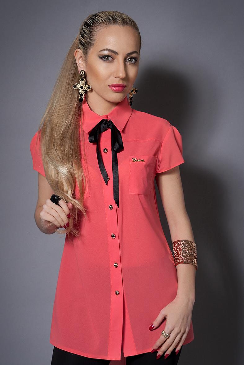 Нарядная красивая модная стильная шифоновая блуза женская 42-44,44-46
