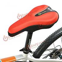 Чехол на седло велосипеда подушка сиденья 3D гель светоотражающая