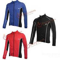 Езда на велосипеде с длинным рукавом куртки трикотаж куртки ветрозащитный