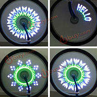40 замена шин на велосипеде велосипед колесо клапан 14 светодиодной вспышкой света