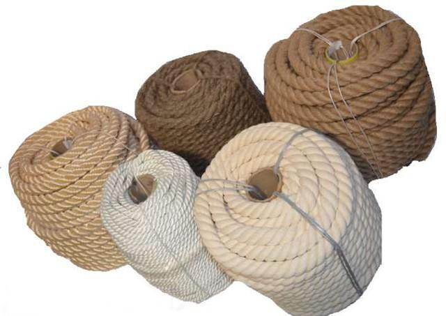 Канати та шнури з натуральних волокон