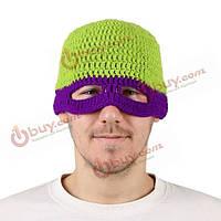 Черепашки Ниндзя анфас крышка лыжную маску осьминога вязать ветрозащитной теплая шапка