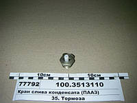 Кран слива конденсата (ПААЗ), 100.3513110