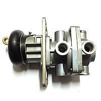 Кран тормозной 2-х секционный с рычагом (пр-во БелОМО), 64221-3514008