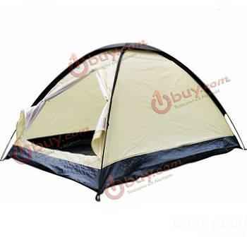 2 человека причала купол палатки кемпинга водонепроницаемый легкий напольный проезд
