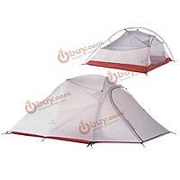 Naturehike путешествия палатки кемпинга 3 человек двойной слой водонепроницаемый туризм палатка наружное оборудование