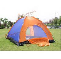 Открытый кемпинг водонепроницаемый ткань Оксфорд две двери палатка для 3-4 человек