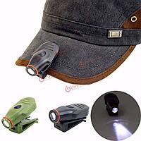 Клип на LED шапка шляпа свет лампы мини факел лампы охота рыбалка кемпинг на открытом воздухе