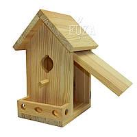 Скворечник деревянный для сада