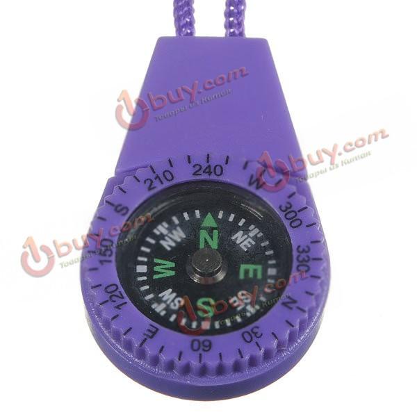 Выживание мини компас Тип весов с водой повесить веревку случайный цвет