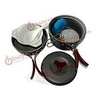 Открытый пикник плита посуда оборудование для приготовления пищи двойной набор
