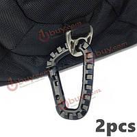 2x D-кольцо карабин привязать брелок тактический рюкзак висит крюк
