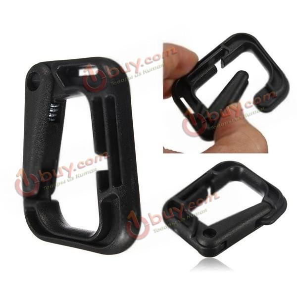 D-образное кольцо D-образного сильная карабин оснастки тактический рюкзак пешие прогулки пряжка