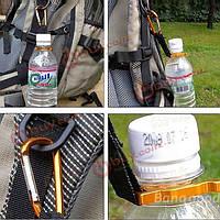 Алюминиевые висячие пряжка бутылки минеральной воды клип пряжки напитки бутылка