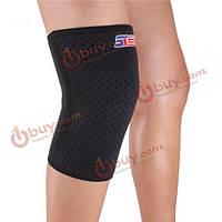 Shuoxin проветривать баскетбол наколенники эластичный фиксатор коленного сустава нога поддержки