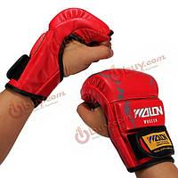 Перчатки для грэпплинга ММА спарринга кожаные
