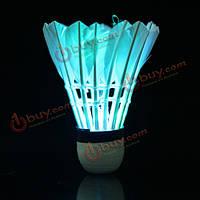 Воланчик перьевой с подсветкой для игры в бадминтон LED