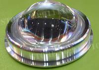 Линза с рефлектором и оправой для светодиодов 50-100 W, фото 1