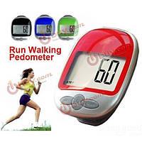 Большой дисплей беговой шаг шагомер пешком счетчик калорий расстояние