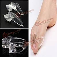 Мягкий силиконовый гель toe сепараторы выпрямитель бурсит большого пальца стопы протектор