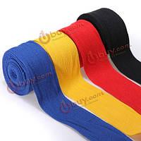 2шт 2.5м хлопок боксерские бинты повязки пробивая рук обертывания
