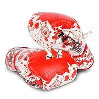 1 пара пу кожаный боксерские перчаткиммA муай тай тренировки пробивки спарринг боксерские перчатки