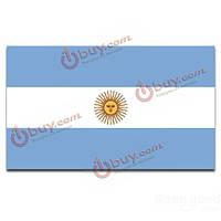 Аргентинский большой национальный флаг 5 х 3 фута