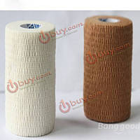 Бинт спортивный эластичный тканевой на клеевой основе 5 х 460см