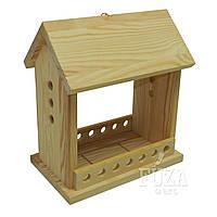 Кормушка деревянная для птиц