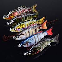 Proberos 6шт разделы рыбалка на блесну 10.3см 20.7 swimbait рыбалка приманка 6 #