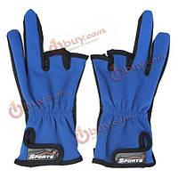1 пара Антипробуксовочная 3 с половиной вырезать пальцы спортивные снасти рыболовные открытый перчатки охота