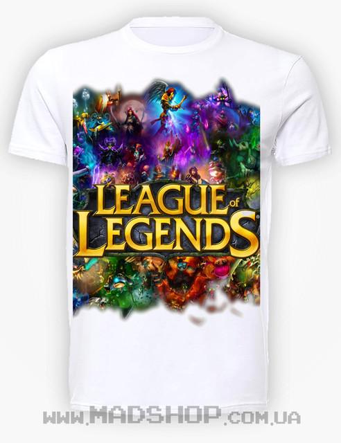 Футболки Лига Легенд League of Legends