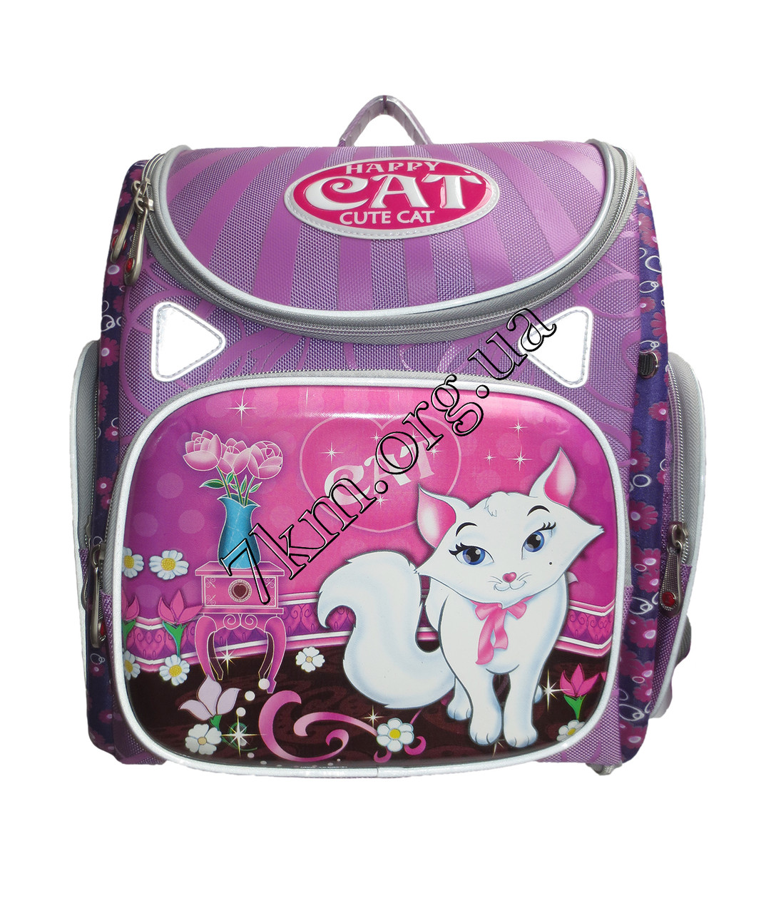 Школьный ранец для девочек Ортопедический CR А11 (35х35см.)