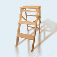 Лестница складная деревянная для дома и сада