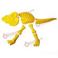 На открытом воздухе Детский спорт творческие динозавр песчаные формы Пляж игрушки песочницы трицератопс