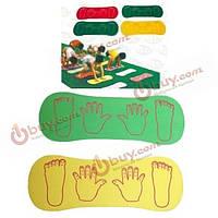 Дети руки сотрудничество доска спорта на открытом воздухе игрушки спортивное оборудование
