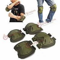 Tactical колено защиты колодки локоть электрический Моноцикл практике механизм конька охранник накладка