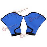 Плавательные перчатки полупальцы перепончатые
