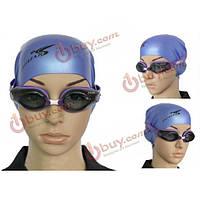 Плавательные очки в бассейн для взрослых силикон