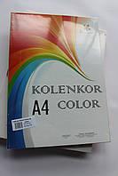 Бумага цветная набор неон+насыщенный  10 цветов*10 листов А4 80 гр/м, 100 листов